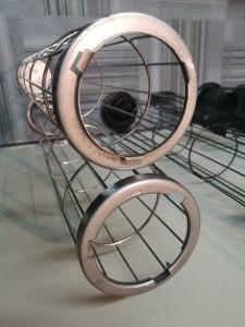 Каркас для рукавного фильтра Ду 138*4005 мм *4*12 прутков (материал нержавеющая сталь AISI 201)