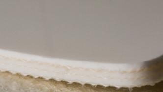 Двухслойная транспортерная лента ПВХ толщиной 2.4 мм, Ду вала, 60 мм, Раб тем -10 /+80