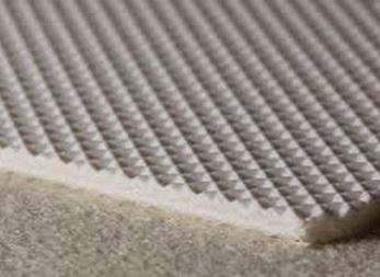 Двухслойная транспортерная лента из пищевого ПВХ с вафельной поверхностью с толщиной 2.1 мм, Рабочая температура °С -15/+90