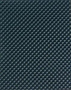 Двухслойная транспортерная лента с поверхность ленты из антистатичного с клетчатой поверхностью для наклонных транспортеров ,тёмнозелёного цвета толщиной 2.4 мм