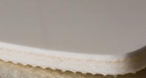 Двухслойная транспортерная лента ПВХ,толщина 2мм, Мин-ый Ду вала, 30 мм