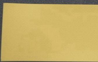 Однослойная лента ПВХ с поверхность ленты из специального ПВХ с повышенной химической стойкостью жёлтого цвета толщиной 0.8 мм, Рабочая температура °С -30/+70