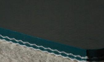Однослойная лента ПВХ с глянцевой поверхностью темно-зеленого цвета толщиной 1 мм, Рабочая температура °С -25/+90