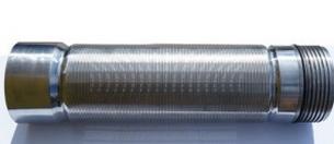 Скважинный щелевой фильтр 0,07 мм* провол несущая 10x3, AISI 304