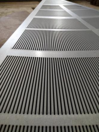 Сигмент щелевого сита для фильтр чана пивного порядка, размер Ду 1500 мм , зазор щелевой 0,8 мм.