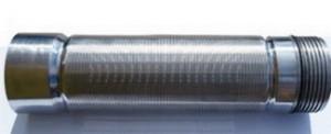 Скважинный щелевой фильтр 0,1 мм* провол несущая 10×3, AISI 304