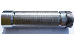 Скважинный щелевой фильтр 0,06 мм* провол несущая 10x3*L-3800 мм