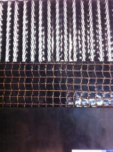 Состав ленты конвейерной 300-ST2000 8/16- ф.6. обрезиненные троса в ленте прокладываются сеткой с обеих сторон.