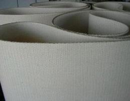 Бесшовная цельнотканная лента материал корда 100% хлопок толщина 1.5 мм,Рабочая температура 100 °С