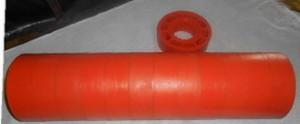 Ролик полиуретановый Ду 89 мм*108*30*420 мм