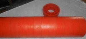 Ролик полиуретановый Ду 127 мм*159*30*630 мм