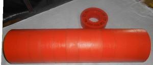 Ролик полиуретановый Ду 108 мм*160*30 мм