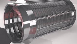 Труба щелевая :Ду 250 мм*0.05 мм щель*L-1500 мм, AISI 304