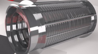 Труба щелевая :Ду 250 мм*0.1 мм щель*L-2000 мм, AISI 304