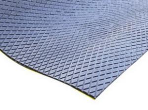 Футеровочная резина Just-Grip MINI ЕСО с клеевым слоем 12 x 2000 x 9000 мм
