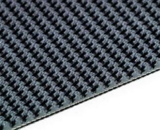 Резиновая лента с пупырчатой поверхностью 3-слойная конструкция с обрезанными краями и каркасом из EP-ткани ,3.2/1.6